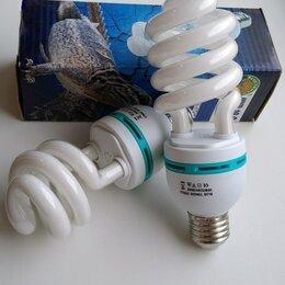 Оборудование для аквариумов и террариумов - Уф лампа Е27 для черепах 5.0/10.0 + уф лампа 3.0, 0