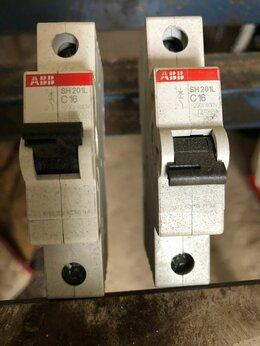 Защитная автоматика - Автомат ABB C16 SH201L б/у, 0