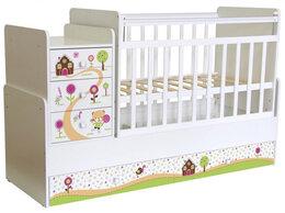 Диваны и кушетки - Кровать для новорожденных ФЕЯ 1100 Пряничный…, 0