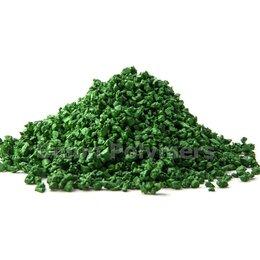 Садовые дорожки и покрытия - Резиновая крошка зеленое яблоко, 0
