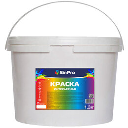 Краски - Краска интерьерная SinPro, 0