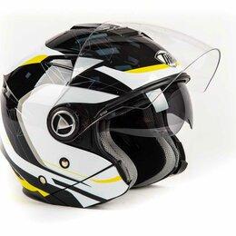 Спортивная защита - Шлем THH T - 396 YEL/WHT ADAPTER (XL), 0