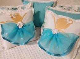 Постельное белье - Бортики в кроватку для девочки. Комплект, 0