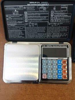 Весы ювелирные - Электронные весы 6 в 1 (до 1000г), 0