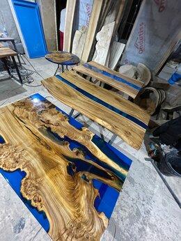 Столы и столики - Стол река с эпоксидной смолой от производителя , 0