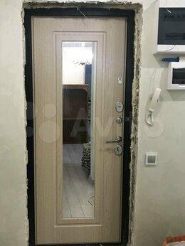Входные двери - Накладка для входной двери с зеркалом, 0