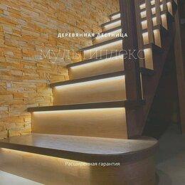 Лестницы и элементы лестниц - Деревянные лестницы , 0