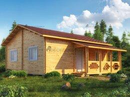Готовые строения - Садовый домик  из мини-бруса 8х8,5 «Купеческий», 0