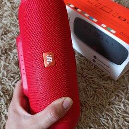 Портативная акустика - Блютуз колонка Jbl Чардж 3 Red. Защита от воды, 0