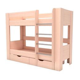 Кровати - Кровать 2х-ярусная с ящиками Аист Лайт, 0
