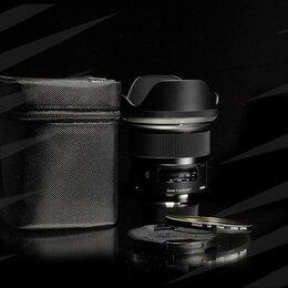 Объективы - Sigma 24 mm 1.4 Art for Nikon / 6804, 0