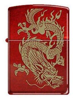 Пепельницы и зажигалки - Зажигалка Zippo Красный дракон, 0