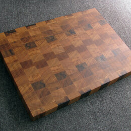 Разделочные доски - Торцевая разделочная доска из дуба Gigantica, 0