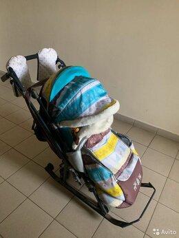 Санки и аксессуары - Санки коляска ника 7-3, 0