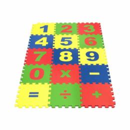 """Пазлы - Коврик-пазл """"Математика"""" 25*25 см, 0"""