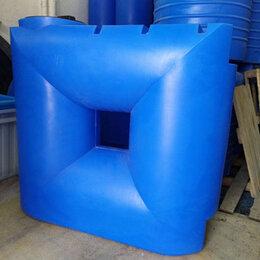 Баки - Емкость из полиэтилена на 1000 литров. Узкая., 0