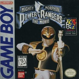 Игры для приставок и ПК - Game Boy Mighty Morphin Power Rangers - The Movie, 0