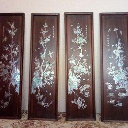 Раскраски и роспись - Настенное Китайское панно, 0