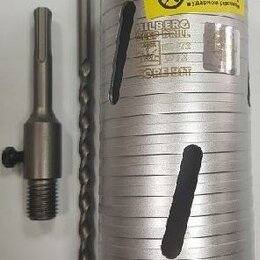 "Для перфораторов - Коронка алмазная по бетону Laser Deep Drill 72х150мм. 4Т ""Hilberg"", 0"