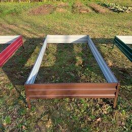 Заборчики, сетки и бордюрные ленты - Грядки оцинкованные и цветные , 0