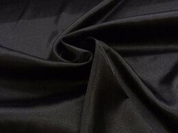 Ткани - Ткань атлас стрейч (черного и красного цвета), 0