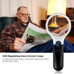 Лупы - Увеличительная лупа с подсветкой, 0