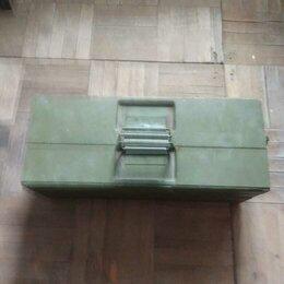 Сумки, ящики и держатели для инструментов - Контейнер для инструментов, металлический, = ПАРМ, 0