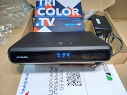 Спутниковое телевидение - Ресивер  GS B626L Триколор Ultra HD (4K)  новый, 0