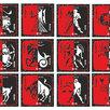 Семейный Астрологический герб-конструктор iL♥Ve™ (открыточный органайзер) по цене 2000₽ - Открытки, фото 1