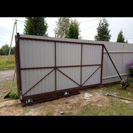 Заборы, ворота и элементы - Рама откатных ворот, 0