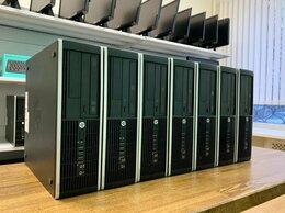 Настольные компьютеры - 14 шт HP 6200 sff Core i3-2100/4/250 + Мониторы, 0