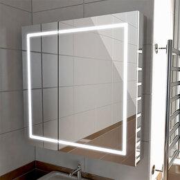 Шкафы, стенки, гарнитуры - Шкаф с зеркалом в ванную Emmy Родос 80 (с…, 0