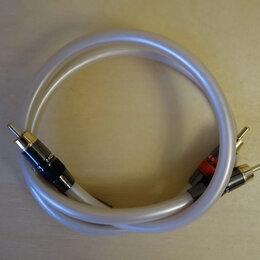 Кабели и разъемы - Межблочный аналоговый аудио-кабель RCA-RCA 0,5 метра, 0