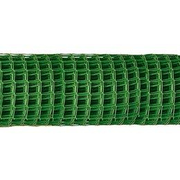 Заборчики, сетки и бордюрные ленты - Заборная решетка в рулоне 1,5 x 25 м, ячейка 75 x 75 мм Россия, 0