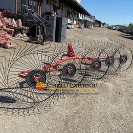 Навесное оборудование - Грабли ворошилки 5 колесные навесные, 0