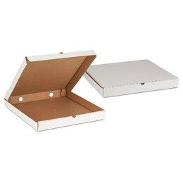 Корзины, коробки и контейнеры - Короб под пироги без печати 250х250х100мм Белый…, 0