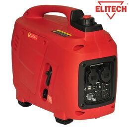 Электрогенераторы - Генератор инверторный бензиновый Elitech БИГ 2000Р, 0