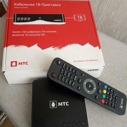 Усилители и ресиверы -  DVB-C тв приставка для МТС,домру,летай, кгс, 0