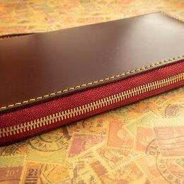 Кошельки - Клатч кожаный ручной работы, 0