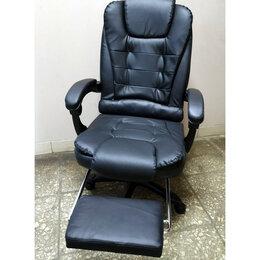 Компьютерные кресла - Офисное кресло с подставкой для ног, 0