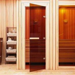 Двери - Стеклянные и деревянные двери для бани, 0