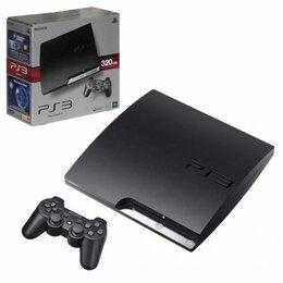 Игровые приставки - Игровая приставка Sony PlayStation 3 Slim 320г…, 0