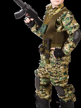 Одежда и обувь - Костюм камуфляж Спецназ ЕК-КОССПЕ-097, 0