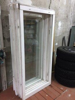 Окна - Окна деревянные  готовые со стеклами 4 шт.…, 0