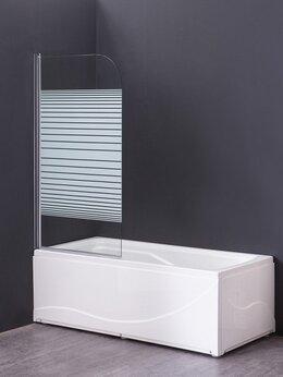 Шторы и карнизы - Шторка для ванны Grossman GR-100P 80 см, 0