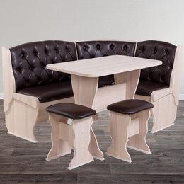 Мебель для кухни - Кухонный уголок с каретной стяжкой, 0