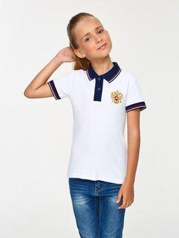 Футболки и топы - Детские футболки - поло с гербом России белые…, 0