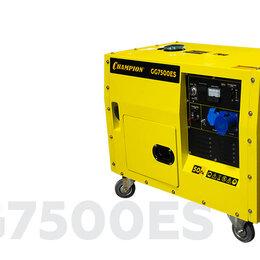 Электрогенераторы и станции - ГЕНЕРАТОР CHAMPION GG7500ES, 0
