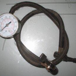 Прочие аксессуары  - Манометр со шлангом к компрессору, 0