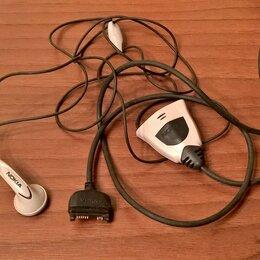 Наушники и Bluetooth-гарнитуры - Гарнитура проводная NOKIA, фирменная, оригинальная. НОВАЯ., 0